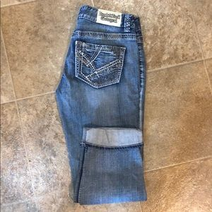 Rock & Roll Cowgirl Low Rise jeans